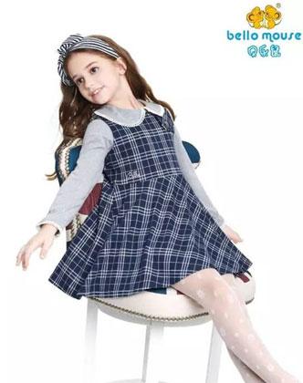 贝乐鼠品牌童装时尚消息 冬日最暖时尚衣橱!