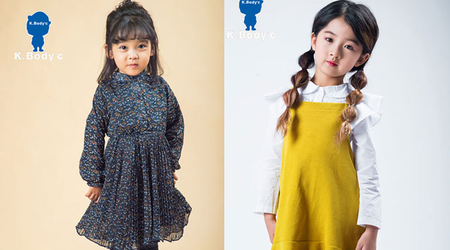 K.Body℃宝贝衣舍2017最新潮裙子 展现小公主气势
