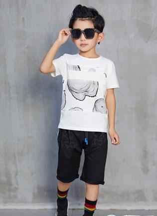 小孩子夏天穿什么凉爽又好看?叽叽哇哇萌娃搭配示范