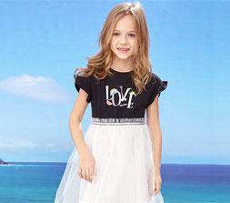 孩子夏天穿什么裙子好?dishion的纯童装夏季新款