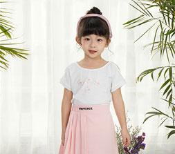 西瓜王子童装说 白色与粉色似好姐妹 搭出清新自然