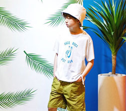 拉酷儿童装2018夏季潮流穿搭 燥动暑假