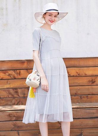 怀孕后要更爱自己一点 时尚孕妇裙 美到飞起哦