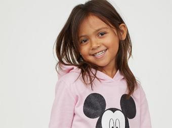 H&M童装 90周年庆可爱的米老鼠系列来袭~