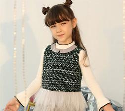 女童秋冬�r尚�B衣裙 打造美��的小公主