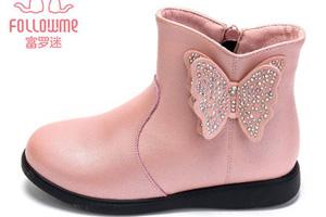 保暖又时尚的潮靴 让萌娃温暖一冬