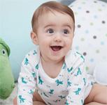 宝宝连体衣 可爱又保暖!宝妈的必备单品