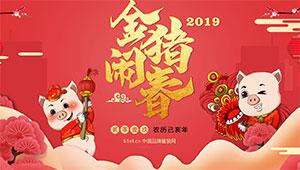 金猪闹春―2019新春大贺年特殊专题