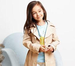 春季女童时尚外套 做个婷婷玉立小美女