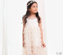 甜美的连衣裙 让宝贝清凉过整个夏天
