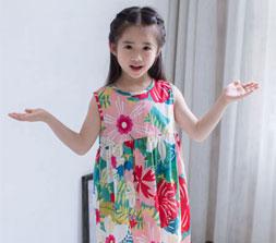 夏季甜美时尚女童连衣裙 公举衣橱必备款