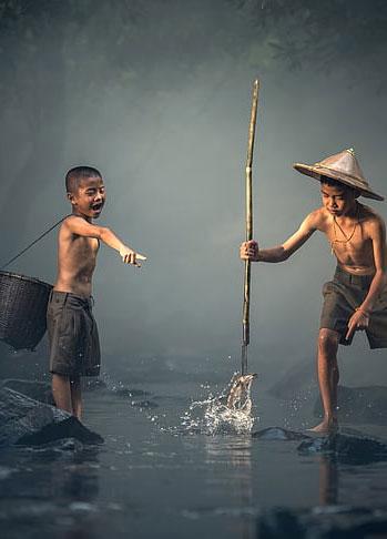 小时候的童趣农活 你做过哪几样?