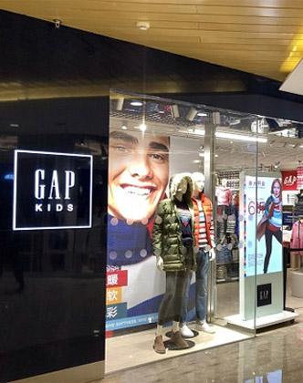 GAP将转型 专注线上发展 计划关闭店铺350家
