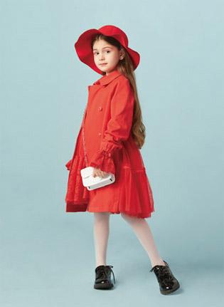 水孩儿时尚单品 新年就要红红火火!