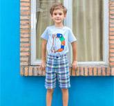 穿衣搭配是门学问 快乐精灵童装教你如何穿搭