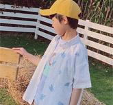 小嗨皮春夏新品 ���r要�孩子穿上舒�m的服�