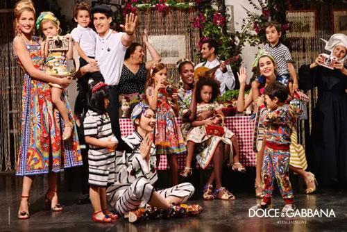 追寻华美绝伦的荣耀 杜嘉班纳D&G推出2016春夏季新品