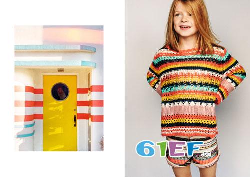 ZARA发布2016春夏季童装 筑造一座童话游乐场