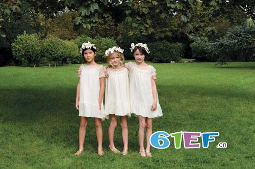 Bonpoint2016年春夏季童装发布:精心策划一场童真之旅