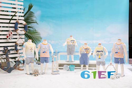 贝贝利安时尚童装 2016夏季新品沙滩系列