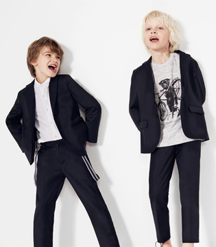 西班牙潮牌ZARA 2016年春夏季Tailoring系列男童装画册Lookbook