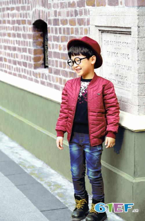"""""""EM7""""秋冬时尚童装 让孩子轻松成为街拍小达人"""