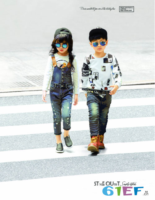 穿上EM7时尚童装的萌娃们 在秀场外是如何凹造型的?