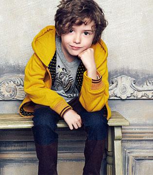 童年童样风格多变的潮流童装 不断为时尚界注入新元素