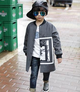 森门童装为宝贝们准备长款外套  既时尚又轻松搭