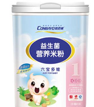 聪贝优益生菌营养米粉系列 宝宝吃的放心婴儿米粉