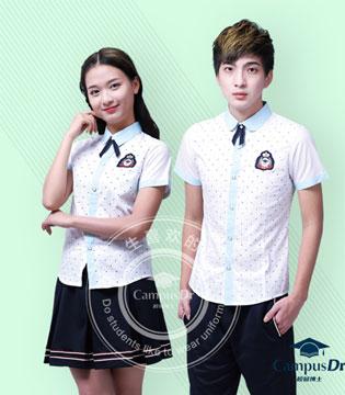 校园博士携手2017上海国际校服展匠心打造品质校服