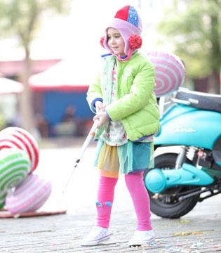 为孩子用心装扮Rag Mart童装 冬天如四季般绚烂绽放