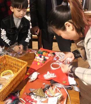 天使宝贝首创DIY亲子手工 陪娃玩转创意圣诞!