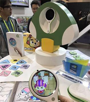 圆形屏电脑惊艳2017CES展 小熊尼奥兄弟品牌MAGNEO成全场焦点