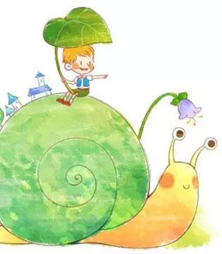 牵着一只蜗牛去散步 值得每一位家长深思