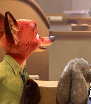 《疯狂动物城》击败《欢乐好声音》等获金球奖最佳动画