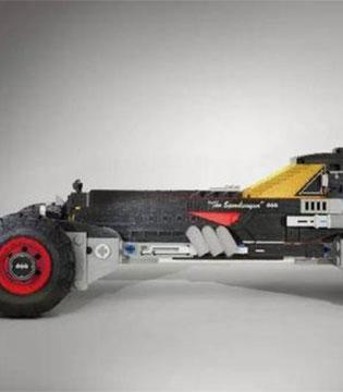 车企、玩具厂和漫画影视公司共同打造的1:1比例乐高蝙蝠车