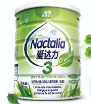 爱达力有机系列奶粉产品详解