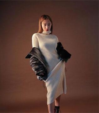 韩国女生最爱的针织连衣裙 穿的甜美又可人