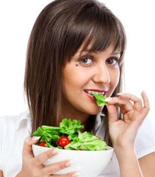 节后狂吃素食减肥不靠谱 减肥得这样做