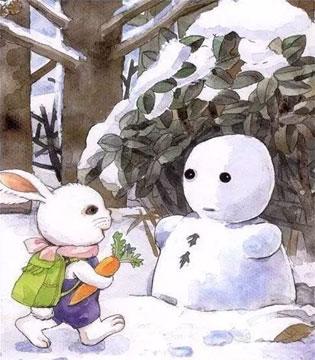 晚安故事 雪地里的宝宝
