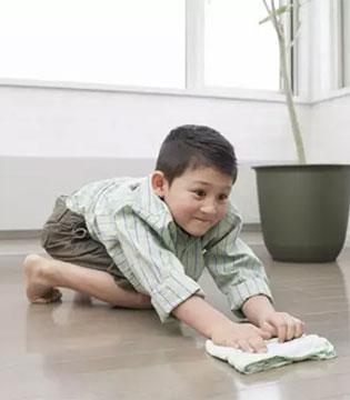 孩子自立成才 从家务开始!