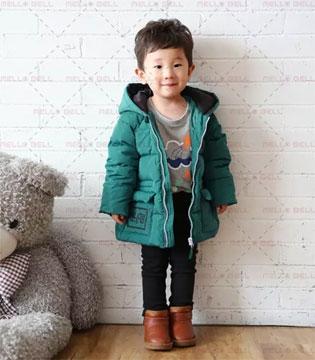 美勒贝尔羽绒服 让宝贝穿出帅气感
