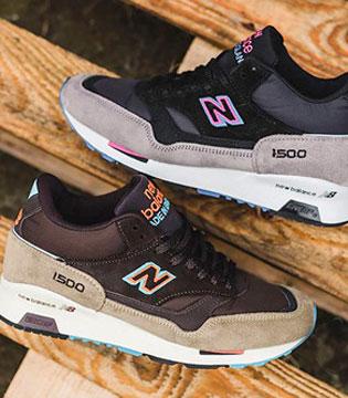 New Balance 中筒鞋款 NB1500 Midtop 配色