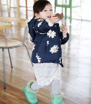 美勒贝尔女婴童的温暖缤纷世界