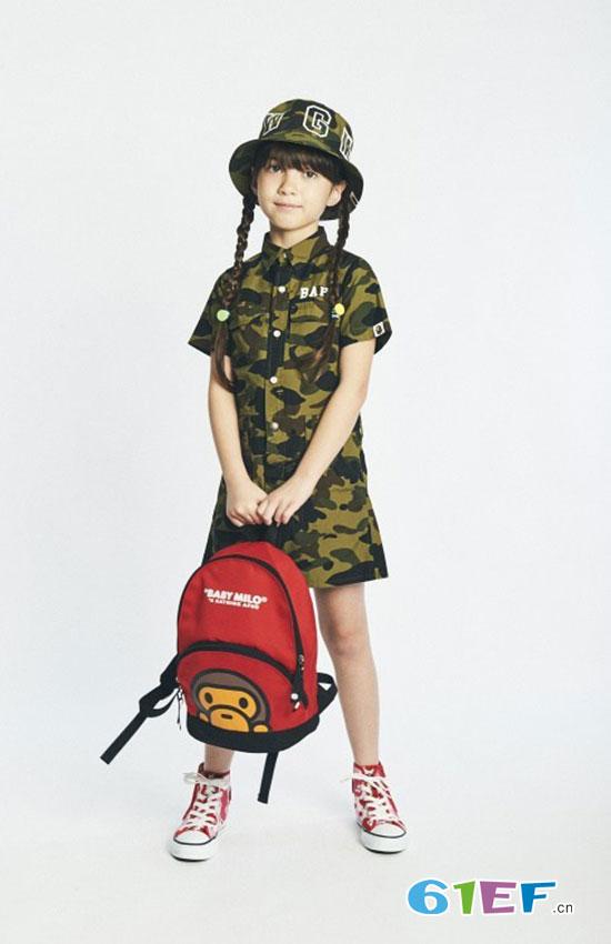 日本潮牌安逸猿BAPE Kids童装系列春夏搭配手册