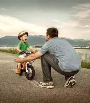 男孩的安全感来自于妈妈  方向感来自于爸爸