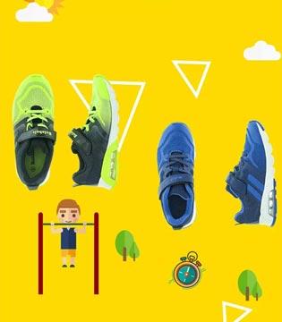 穿上Balabala慢跑童鞋装备 活力星童健康出发