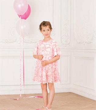 Dior迪奥童装2017夏季新品来袭 粉色公主随心搭
