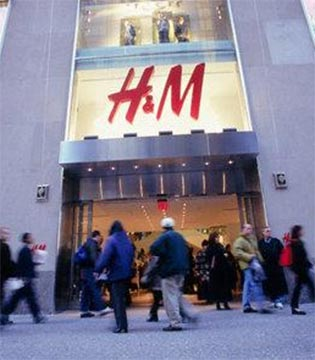 H&M2016财年销售增长7% 2017年继续扩张中国市场